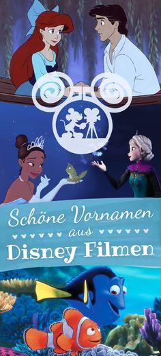 Klickt euch durch unsere Galerie der schönsten Vornamen aus Disney Filmen.