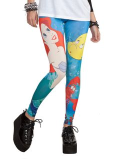Disney The Little Mermaid Leggings | Hot Topic #kawaii