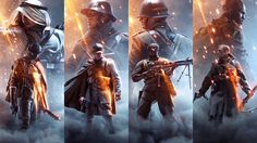 Key Art for branding and packaging of Battlefield 1 and it's marketing campaign. All images Copyright 2016 © Electronic Arts Inc.