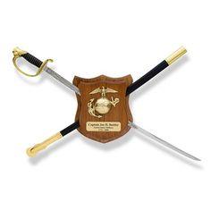 Usmc Custom Wooden Rank Insignia Plaque Navy Kid To