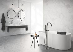 GROHE - Luxury fittings for exceptional bathrooms and kitchens. Our range of bathroom taps, showers, shower heads and kitchen mixer taps includes designs to suit all interior styles and budgets. Interior Design Gallery, Contemporary Interior Design, Physical Vapor Deposition, Timeless Bathroom, Shabby, Bathroom Taps, Bathrooms, Kitchen Mixer, A Perfect Circle