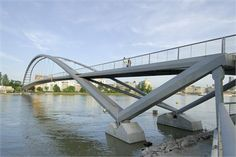 Three Countries Bridge, Weil-am Rhein, 2007
