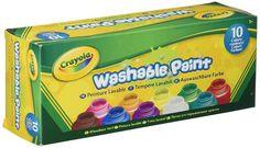 Crayola Washable Kids Paint (Set of 10): Amazon.co.uk: Toys & Games