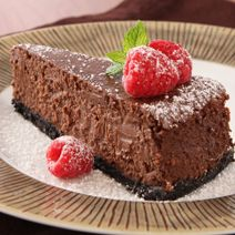This exceptional Chocolate Hazelnut Cheesecake from @Philadelphia Jackman Jackman Cream Cheese takes the cake. #cheesecakecheer