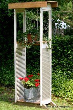 Putzt sich die Yard mit alten Verschluss bifold - JUNKMARKET Stil