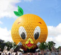 "The legendary ""Orange Bird"" from Walt Disney World's past has been revived! And here, reinterpreted :)"