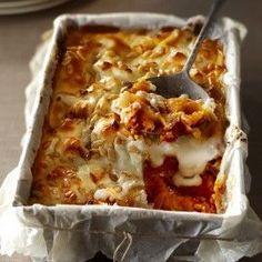 Boodschappen - Lasagne met pompoen en geitenkaas