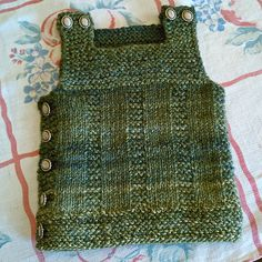 Ravelry: ThereseSs Pebble vest