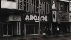Funland Arcade, Toronto  from   when they   were  operating