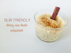 BLW friendly: Arroz con leche adaptado
