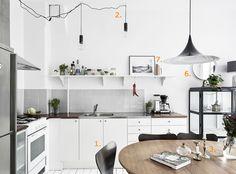 Shop the look: stijlvolle keuken in zwart-wit - Roomed