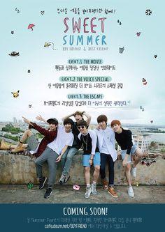 Summer Boy, Best Friends, Boyfriend, Kpop, Twitter, Boys, Movie Posters, Movies, Twins