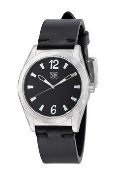 Uno De 50 Men's O'Clock Quartz Leather Watch