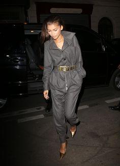 Zendaya Coleman News Fashion 2020, Star Fashion, Zendaya Street Style, Zendaya Outfits, Zendaya Fashion, Zendaya Maree Stoermer Coleman, Tailor Made Suits, Thing 1, Military Fashion