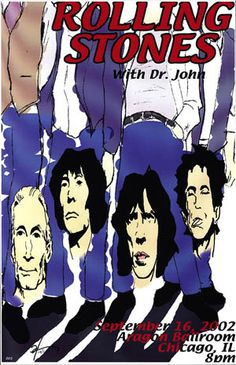 GigPosters.com - Rolling Stones, The - Dr. John