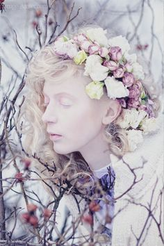 ❀ Flower Maiden Fantasy ❀ beautiful art fashion photography of women and flowers -