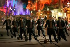 Haunted Mansion Drill Team- Boo to You Parade