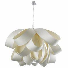 "$2492 - Bathtub LZF light  - Large Agatha Suspension Light, Agatha Lights & Lzf Lamps | YLighting - in white 30"" diameter"