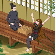 CM: I win! by JuliettaSan on DeviantArt Naruto And Shikamaru, Tenten Y Neji, Naruto Gif, Naruko Uzumaki, Naruto Funny, Sakura And Sasuke, Naruto Shippuden Anime, Itachi Uchiha, Otaku Anime