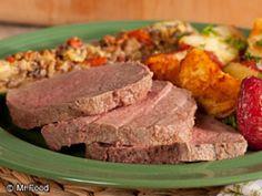 Salt Crusted Beef | mrfood.com