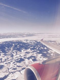 Über den Vor-Alpen - auf dem Flug nach Ägypten