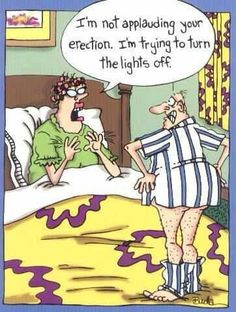 HA!  But now.....NOW I'm applauding your erection...