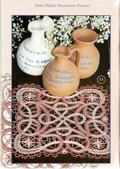 Lace Express 2007-02 - Isabel Delgado - Picasa-Webalben Lace Embroidery, Embroidery Patterns, Crochet Doilies, Crochet Lace, Bruges Lace, Bobbin Lacemaking, Lace Art, Bobbin Lace Patterns, Point Lace