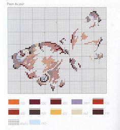 Gallery.ru / Фото #27 - бабочки - anapa-mama Butterfly Stitches, Butterfly Cross Stitch, Cross Stitch Bird, Cross Stitch Animals, Cross Stitch Flowers, Cross Stitch Charts, Cross Stitch Designs, Cross Stitching, Cross Stitch Embroidery