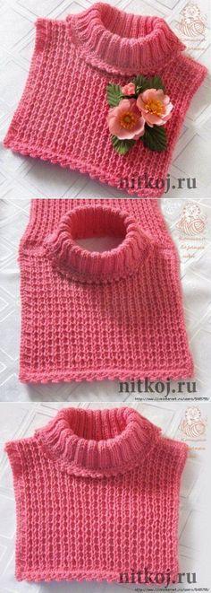 "Manishka # for # girl # ""# Thread # – # knitted # things # for # your # home, # knitting # crochet, # knitting # knitting, # knitting – crochet pattern Crochet Baby Shawl, Crochet Kids Scarf, Crochet Beanie, Crochet For Kids, Crochet Stitches, Knit Crochet, Crochet Hats, Baby Knitting Patterns, Crochet Patterns"