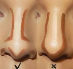 31 Ideas Makeup Tutorial Contouring Products Make Up 31 Ideen-Make-up-Tutorial Konturprodukte Face Contouring Tutorial, Make Up Tutorial Contouring, Makeup Tutorial Foundation, Nose Contouring, Makeup Tutorial For Beginners, No Foundation Makeup, Contouring And Highlighting, Drugstore Contouring, Contour Face