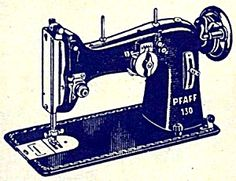 Manual maquina fileteadora pfaff sewing
