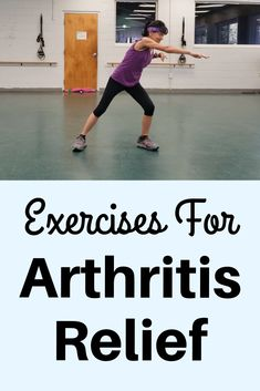 Relieve arthritis pain and stiffness with this gentle full body exercise Fitness Workout For Women, Fitness Diet, Health Fitness, Fitness Plan, Yoga Fitness, Arthritis Exercises, Knee Exercises, Yoga For Arthritis, Routine