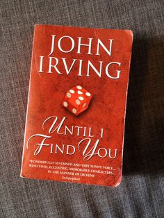 #50books2014.    07: Until I Find You by John Irving.  30-06-2014.    Compelling, emotional, funny and sad: the tale of the tattooist  the organist's bastard son. At an epic 925 pages, it should surely count as 2 books?!