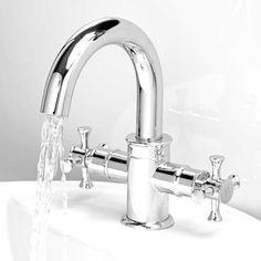 Glenham Cross Basin Mono Tap | Traditional Taps | Better Bathrooms