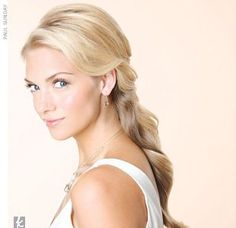 convertible hairstyle help! up for ceremony down for reception! :  wedding bun convertible down hair updo Large Image.jpg