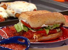 Crispy Chicken Parm BLT Hero Sandwiches | Rachael Ray Show