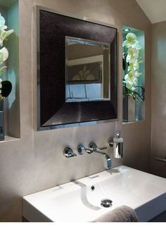 Mirror obsession on pinterest luxury designer beverly for D line bathroom accessories