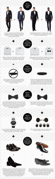 A guide to breaking all the black tie rules, in style. #menswear #mensfashion
