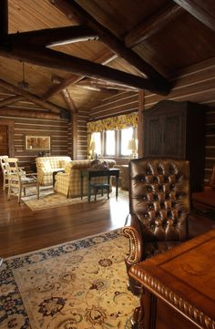 Home Office Rustic with Adirondack antler armoir beautiful