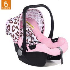 ポータブル赤ちゃんカーシート5ポイントハーネス用新生児幼児旅行車バスケット快適後ろ向きインストール安全c
