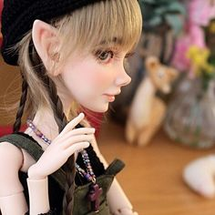Bjd Dolls, Elf, Art Projects, Face, Instagram, Bonito, People, Art Designs, Art Crafts