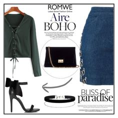 """""""romwe"""" by fashionvoice2015 ❤ liked on Polyvore featuring Christian Dior, Miss Selfridge and Rodo"""