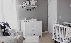Project Nursery - Black and White Nursery