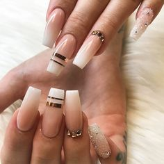 Nude Nails with Ombre Design Picture 1