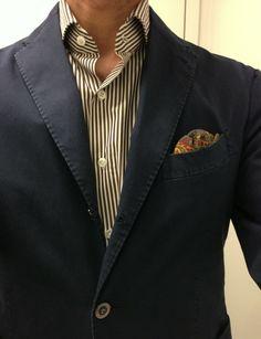 Boglioli Coat jacket (still available in the Luxeswap thread) Finamore shirt Bergdorf Pocket Square!!!