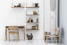 La marca We do wood diseña muebles de bambú, ya que es uno de los recursos naturales más sostenibles del mundo.