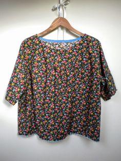 Pretty ditsy fabric. Odacier, Ellen Mason Design: A Stitcher's Wardrobe: Shirt