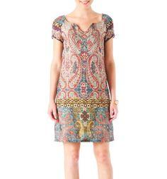 Kleid in orientalischem Design