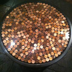 Penny table by Karen, MC and Kendall.