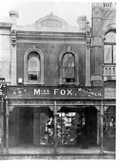 [Miss Fox's hat shop on Chapel Street] Melbourne Girl, Melbourne Suburbs, Melbourne Victoria, Victoria Australia, Melbourne Australia, Old Pictures, Old Photos, Miss Fox, Australian People